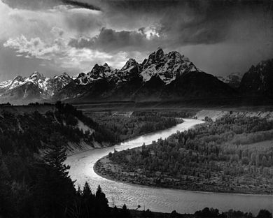 Adams The Tetons and the Snake River 390px